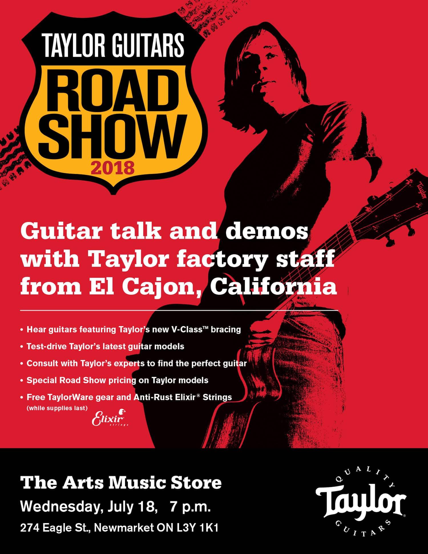 Taylor Guitars Newmarket Ontario