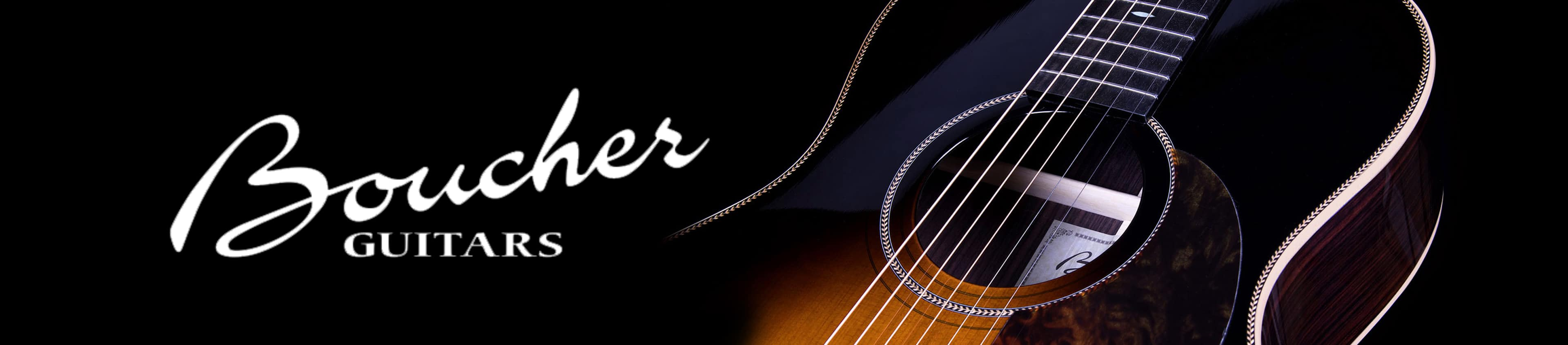 Boucher Guitars At The Arts Music Store Canada