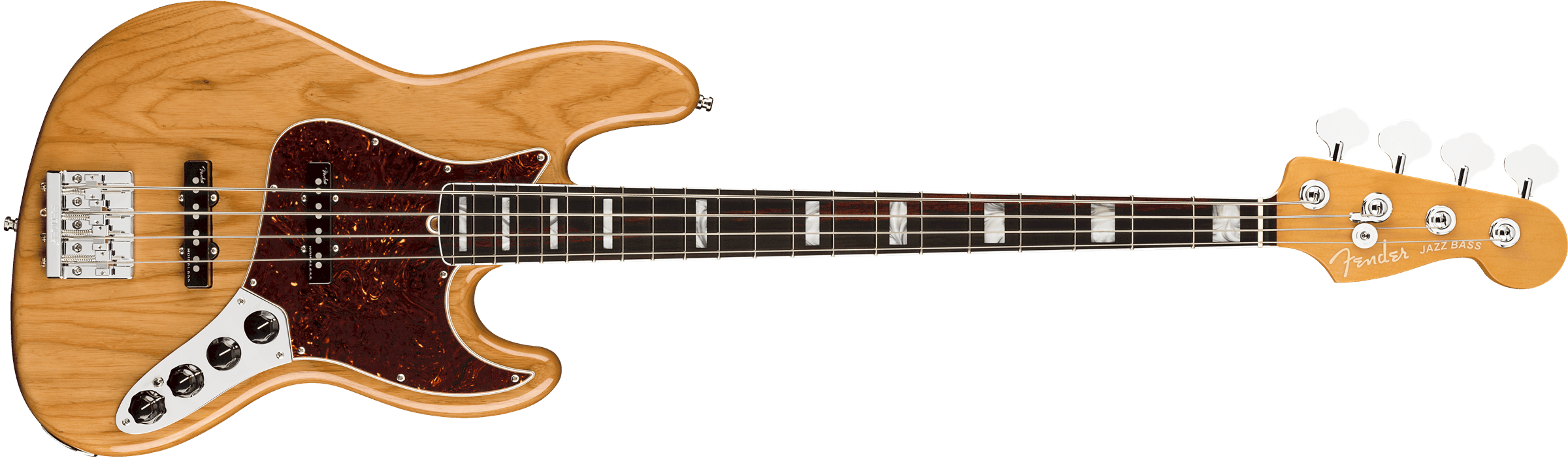 Fender American Ultra Jazz Bass®, Rosewood Fingerboard, Aged Natural
