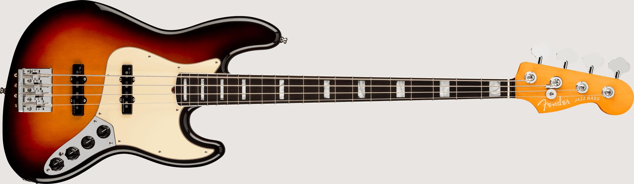 Fender American Ultra Jazz Bass®, Rosewood Fingerboard, Ultraburst