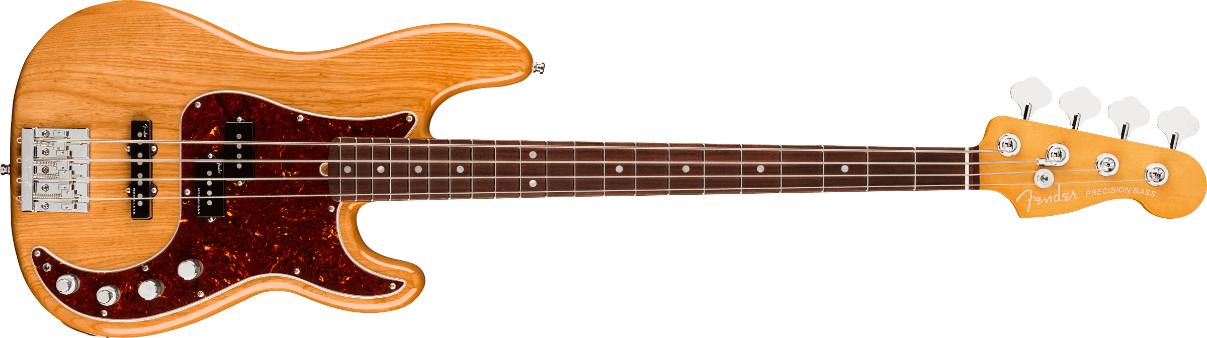 Fender American Ultra Precision Bass®, Rosewood Fingerboard, Aged Natural
