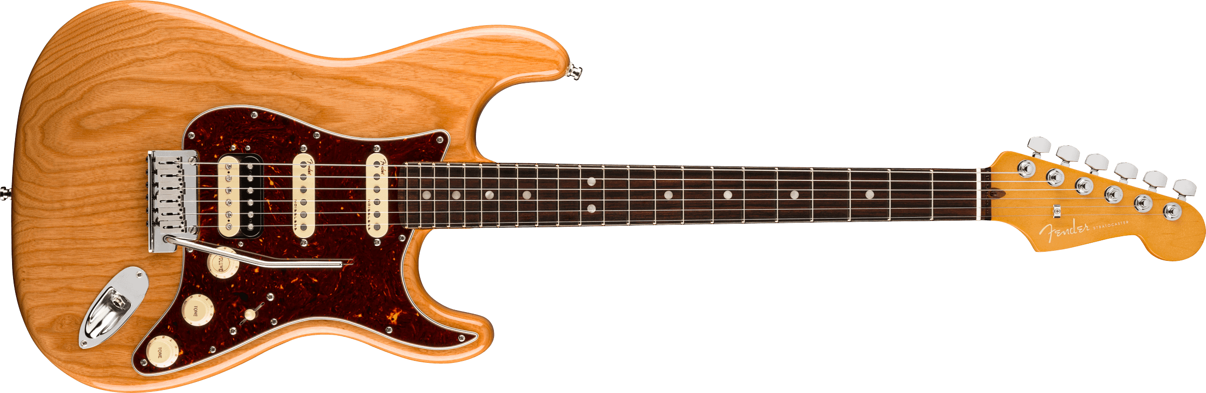 Fender American Ultra Stratocaster® HSS, Rosewood Fingerboard, Aged