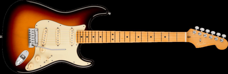 Fender American Ultra Stratocaster®, Maple Fingerboard, Ultraburst