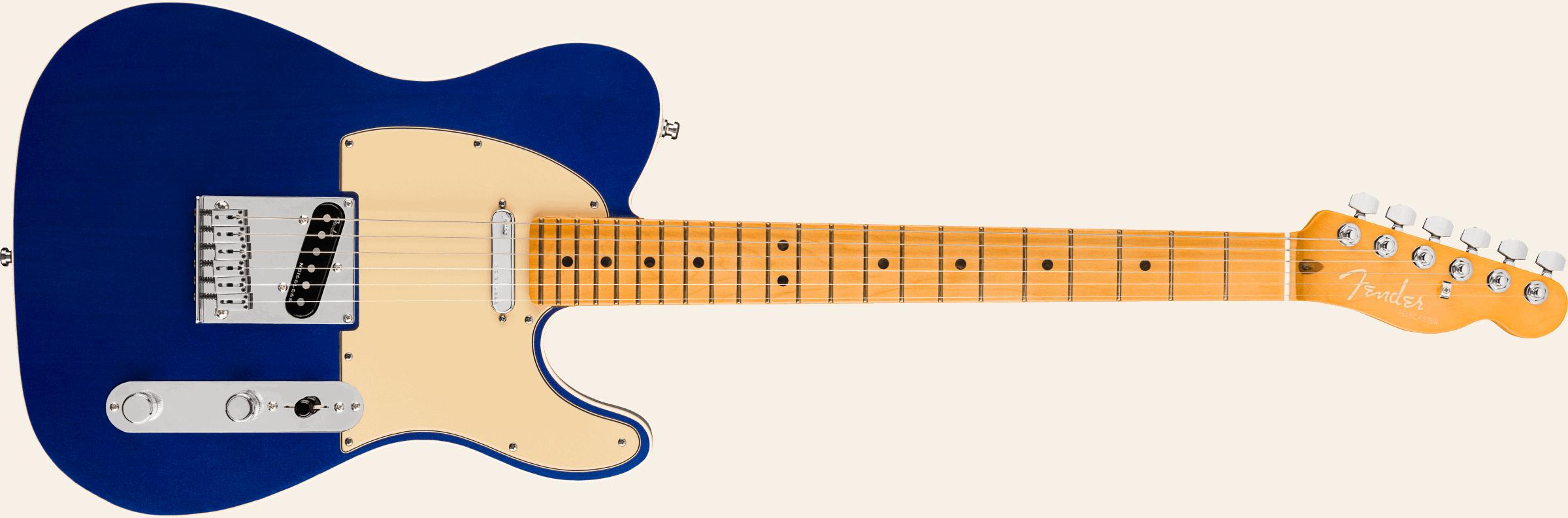 Fender American Ultra Telecaster®, Maple Fingerboard, Cobra Blue