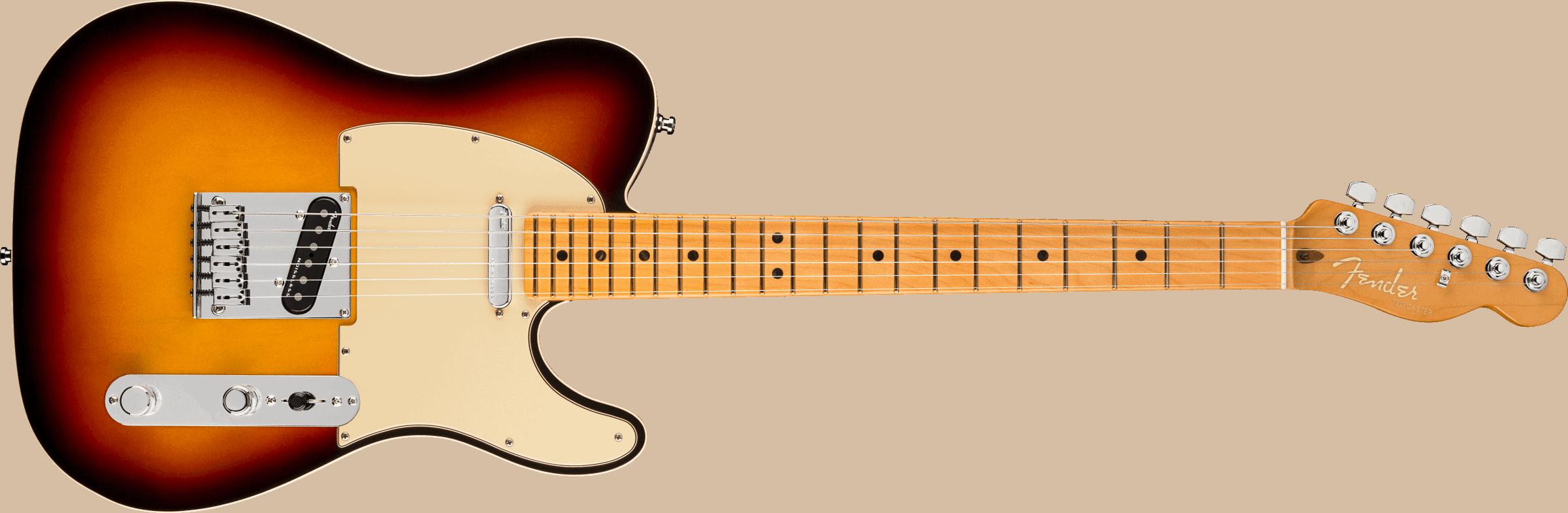 Fender American Ultra Telecaster®, Maple Fingerboard, Ultraburst