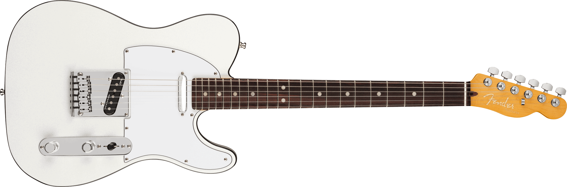 Fender American Ultra Telecaster®, Rosewood Fingerboard, Arctic Pearl